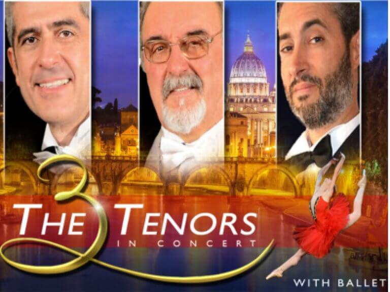 The Three Tenors - Chiesa San Paolo