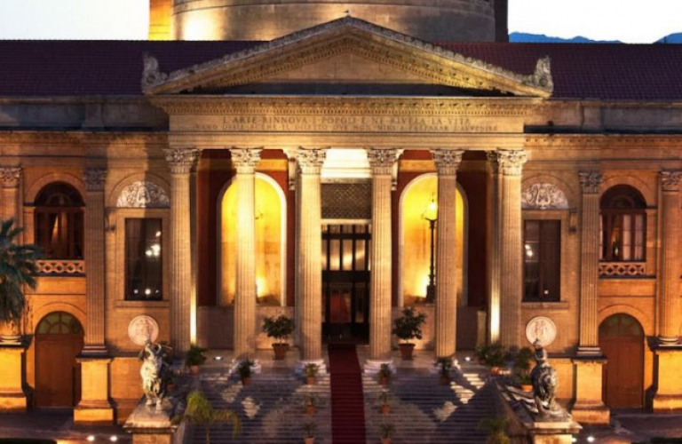 Teatro Massimo Opera Haus Palermo