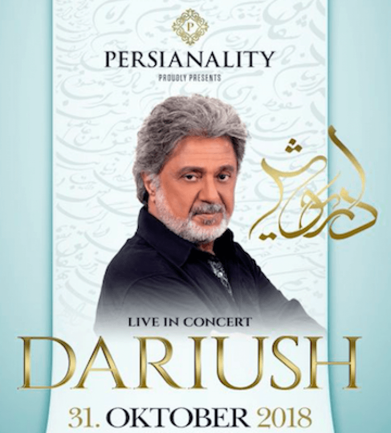 Dariush Eghbali - © Persianality