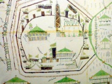 © Osmanischer Plan, Wien 1683