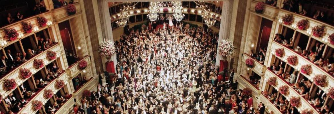 La bola de ópera de Viena